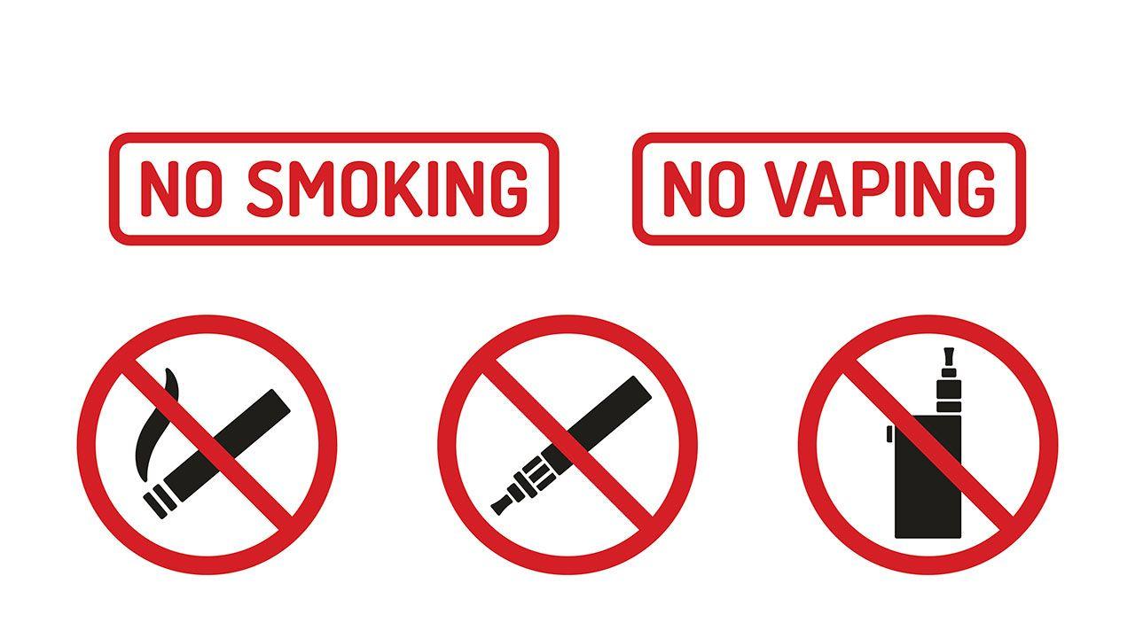 ne pas fumer pas de vapoteur