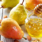 Remède antidépresseur poire et miel pour l'automne