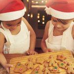 Les allergies des enfants aux bonbons de Noël
