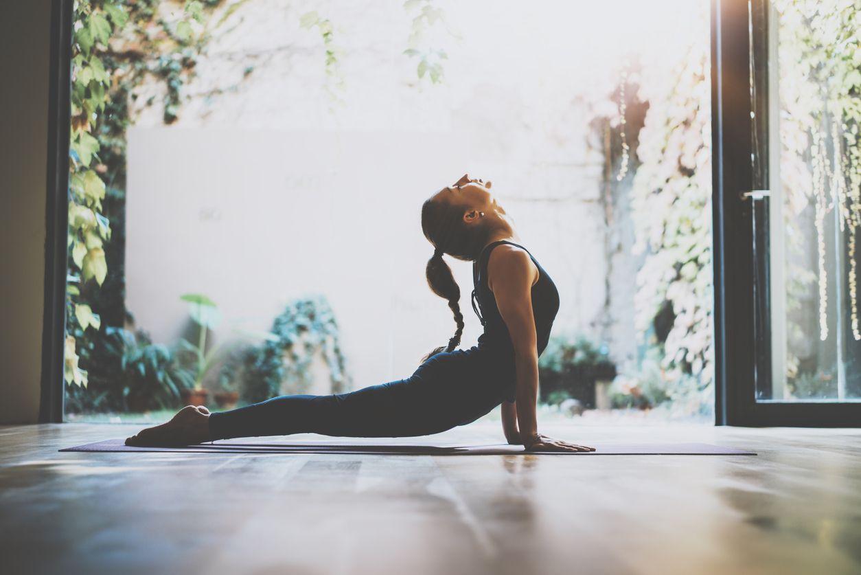 Des activités comme le yoga vous aideront à vous détendre et à rester en forme.