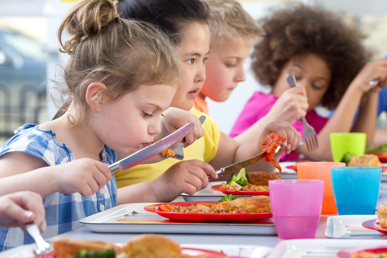Manger à l'école
