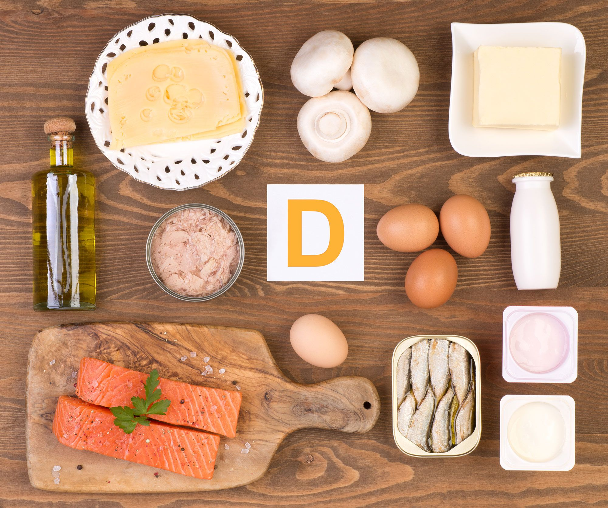 aliments à la vitamine D