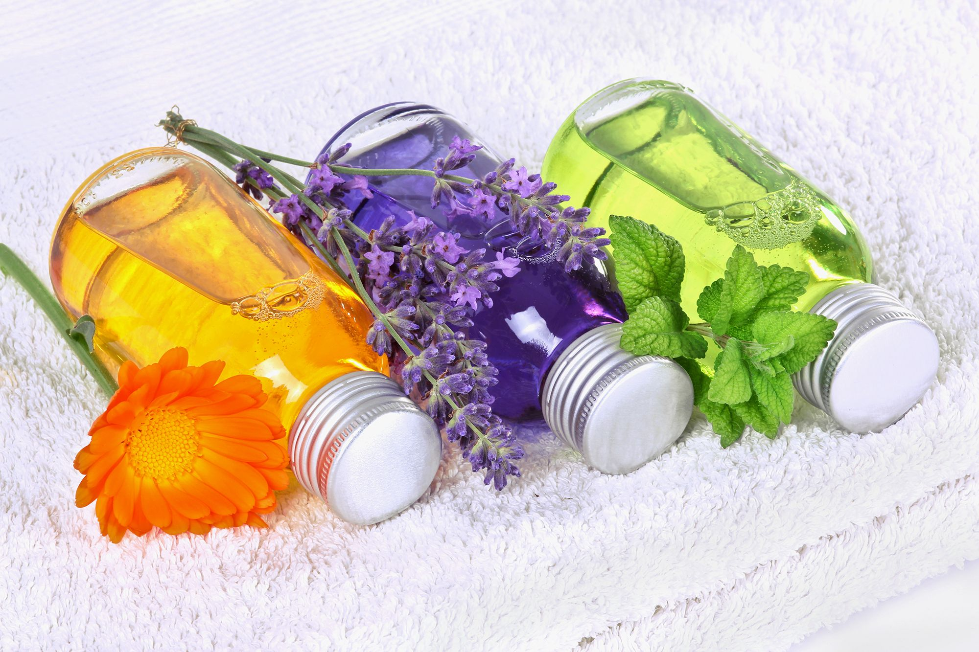 huile de calendula à la lavande
