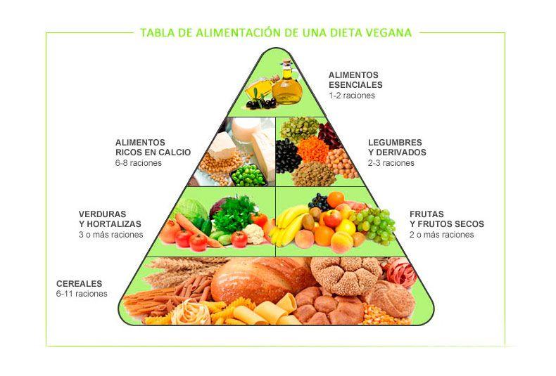 graphique pyramide végétarien