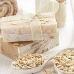 Savon naturel à l'avoine et au miel